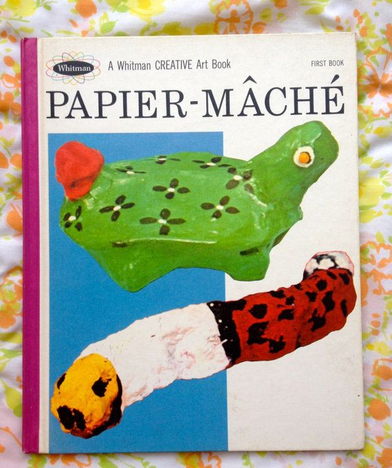 60s Baby Mache Book by lishyloo on Etsy, $10.00