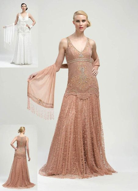 Flapper Style Wedding Dresses | 200 500 recommend share via email ...