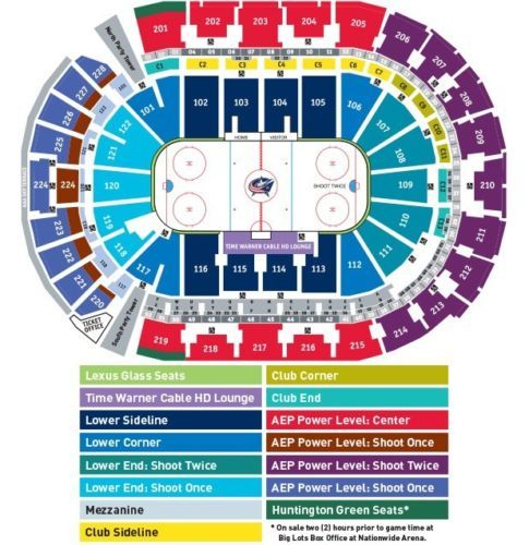Tickets Columbus Blue Jackets vs Minnesota Wild Tickets 03/02/17 ...
