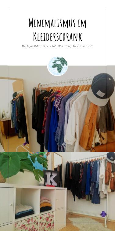 Minimalismus im Kleiderschrank. Nachgezählt: Wie viel