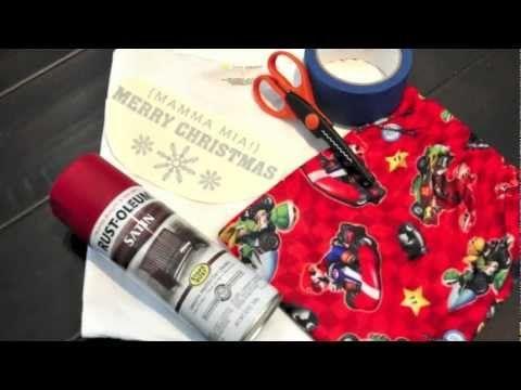 DIY Customized Christmas Pajamas