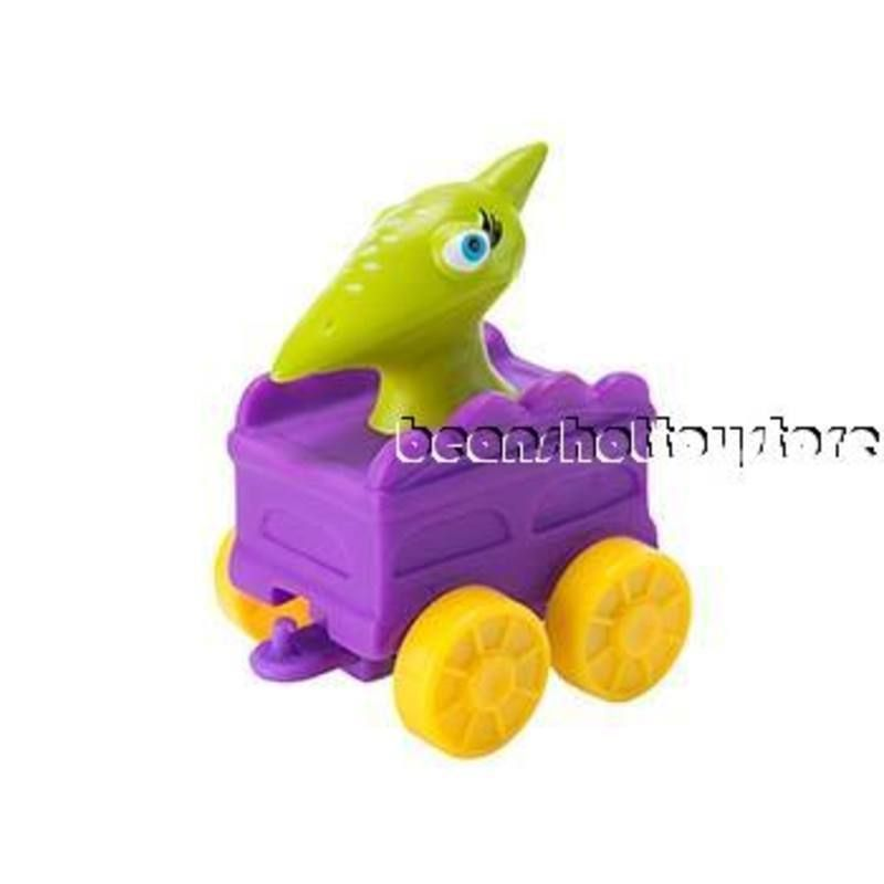 PBS Kids Dinosaur Train Toy Collect /& Connect Tiny Pteranodon Purple Car 2 for sale online