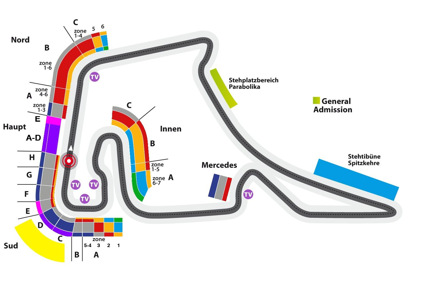 formula 1 2012 german grand prix seating chart grosser. Black Bedroom Furniture Sets. Home Design Ideas