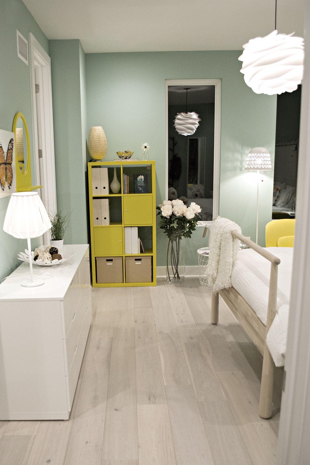 Philadelphia Magazine's Design Home 2016 Green bedroom