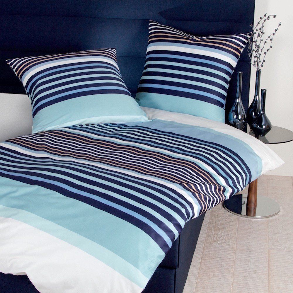 bettw sche blau t rkis mako satin deep blue ein traum in blau pinterest bettw sche blau. Black Bedroom Furniture Sets. Home Design Ideas