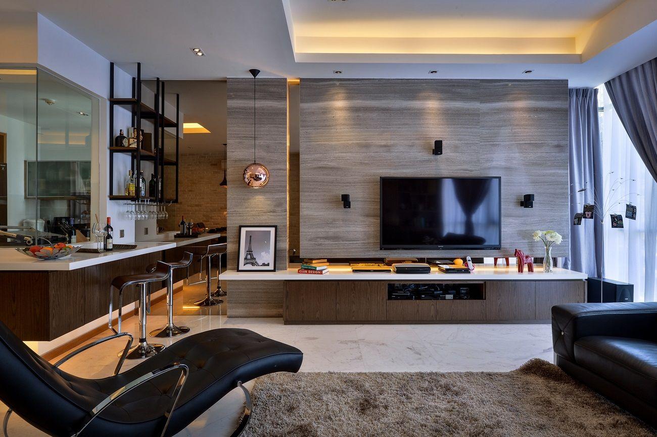 Twins Damansara condominium interior design by Surface R