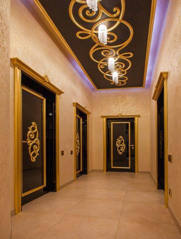 Foyer False Ceiling : Yeni kapı modelleri luxury interiors ceiling