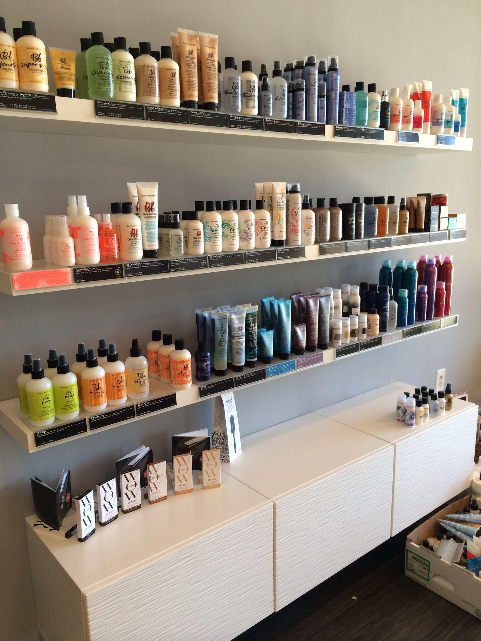 Mirage Hair Studio Ikea Retail shelving Myrtle Beach SC  New Mirage Hair Studio Salon in