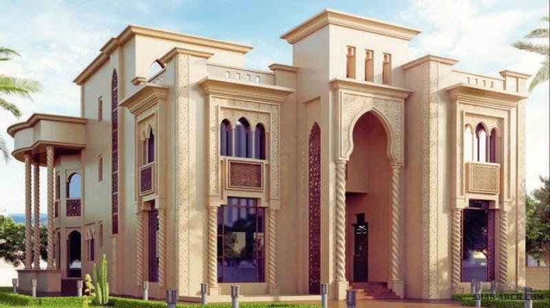 مخطط الفيلا رقم التصميم I2 من مبادرة بيتى 900 متر مربع 6 غرف نوم Village House Design Morrocan Architecture Architectural House Plans