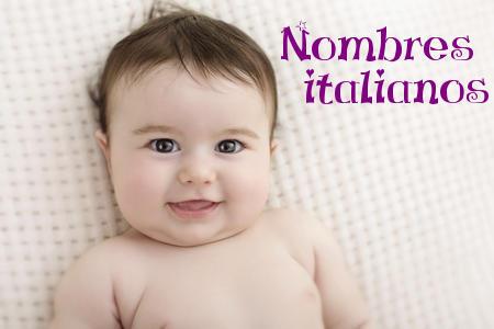 Los 20 nombres de bebé italianos más populares