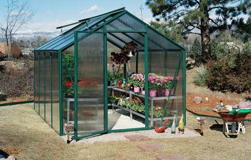 cultivator premier hobby greenhouse kit backyard greenhouse kits rh pinterest com