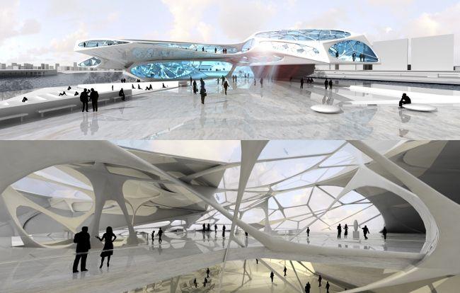 Nicholas channon cultural building archinspiration for Arquitectura parametrica pdf
