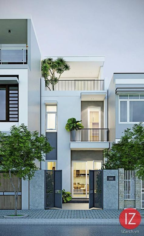 Holiday homes plan house plans narrow compact facade minimalist also best home images rh pinterest
