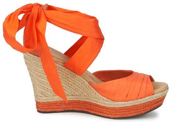 UGG orange wedges