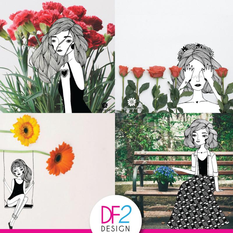 [INSTAGRAM] Para você que gosta de instagram, hoje temos uma dica super legal! Florigrafia é um projeto autoral da fotógrafa Natália Viana e da ilustradora Rafaela Melo, que mistura ilustração, fotografia e flores. Conheça mais o trabalho nas artistas no instagram do projeto https://instagram.com/aflorigrafia/ #fotografia #ilustração #arte
