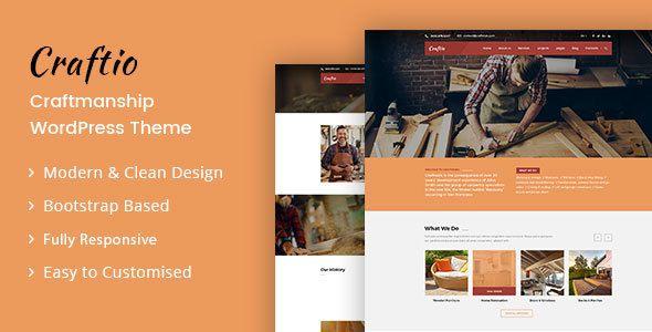 craftio carpenter craftman html template by designarc. Black Bedroom Furniture Sets. Home Design Ideas