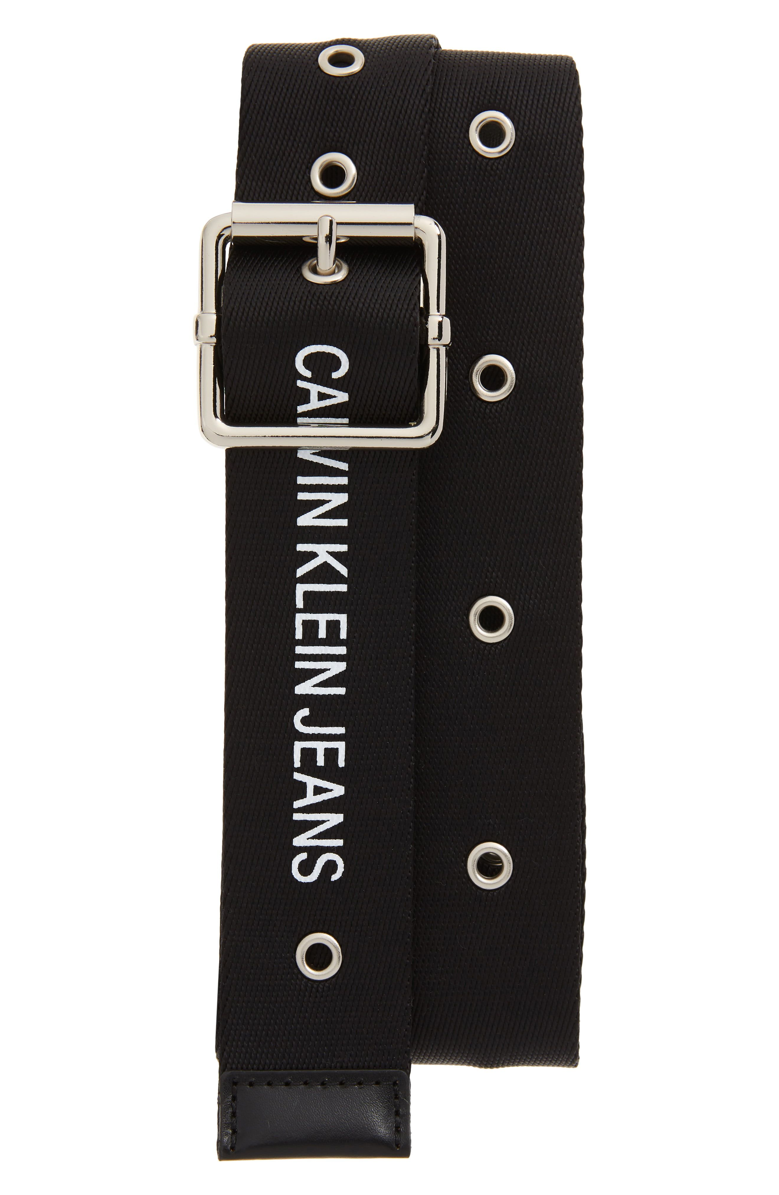 Calvin Klein Logo Web Belt | Belt, Calvin klein, Calvin