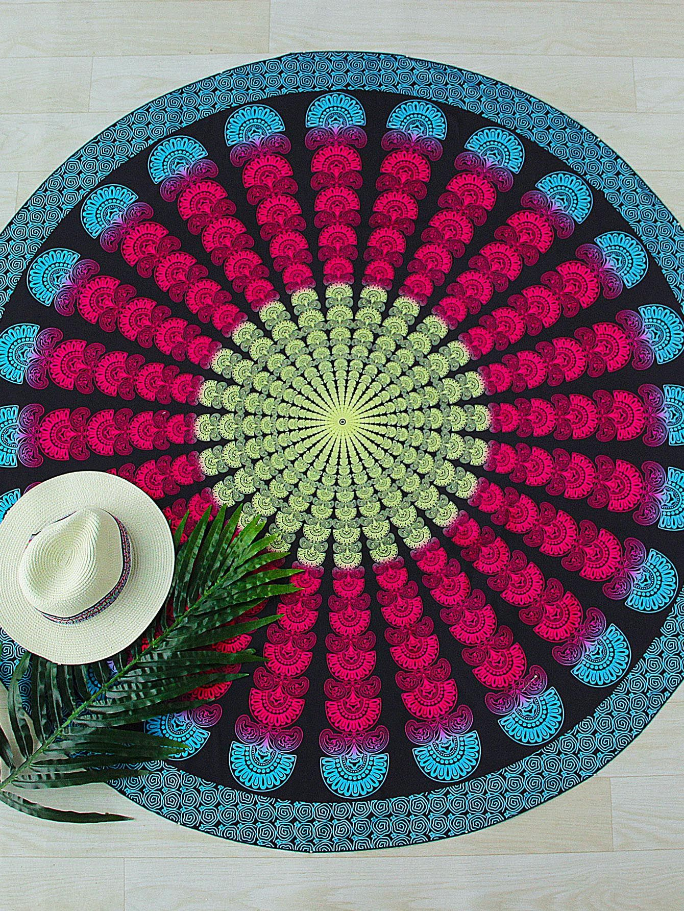 Buy it now. Red And Blue Print Vintage Round Beach Blanket. Red Blue Cover Ups & Beach Dresses Vacation Polyester Print Swimwear. , vestidoinformal, casual, camiseta, playeros, informales, túnica, estilocamiseta, camisola, vestidodealgodón, vestidosdealgodón, verano, informal, playa, playero, capa, capas, vestidobabydoll, camisole, túnica, shift, pleat, pleated, drape, t-shape, daisy, foldedshoulder, summer, loosefit, tunictop, swing, day, offtheshoulder, smock, print, printed, tea, babyd...