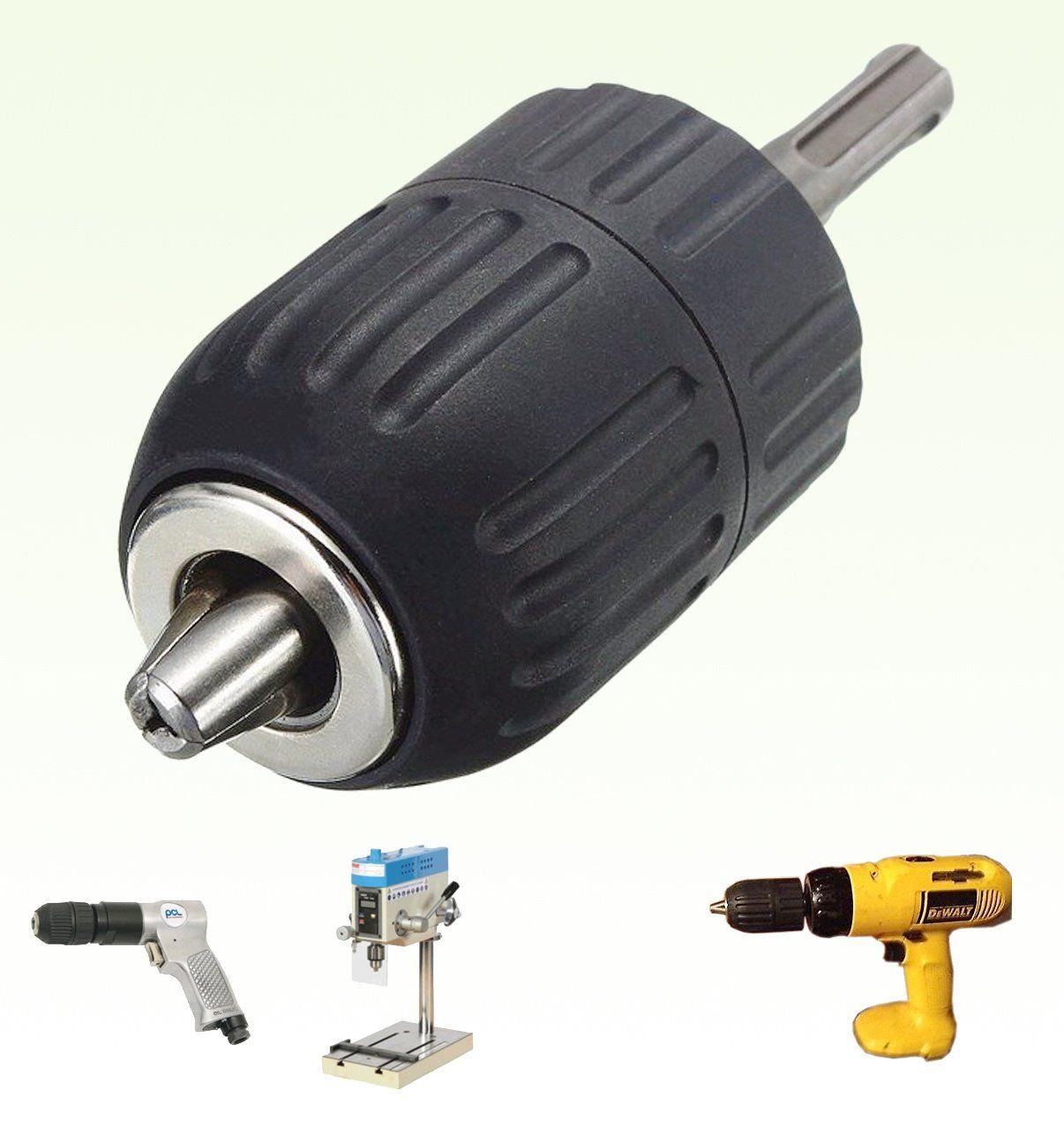 "Impact wrench 1//2-20UNF keyless 1//2/"" drill chuck adaptor converter with screw P*"
