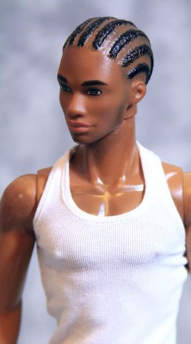 Details about Custom Athletic Barbie African American ...