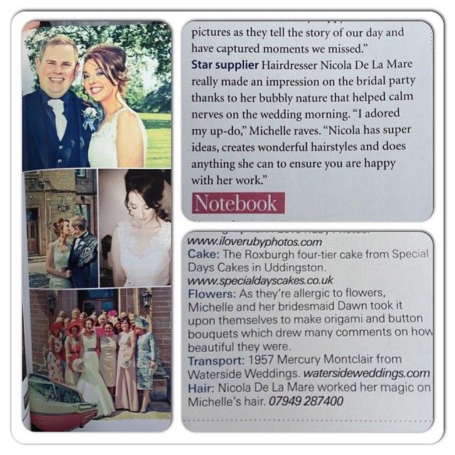 The best scotish wedding #magazine #star #supplier  #weddinghair