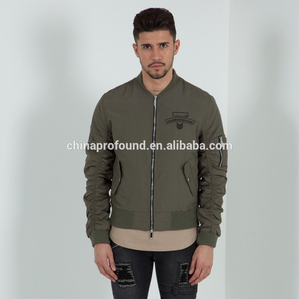 Customized flight jacket men ma-1 bomber jacket wholesale, View ...
