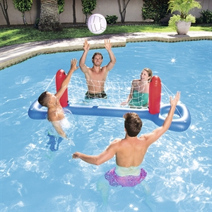 Show Details For Water Volleyball Swimming Pool Games Volleyball Set Inflatable Pool