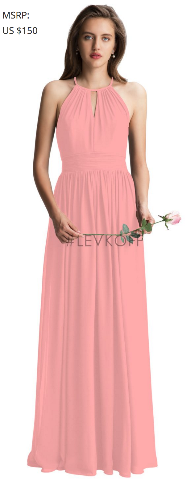 60aacad04f42 Levkoff 7002 Coral $150   dresses we saw in person   Pinterest