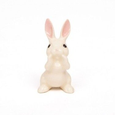 Vintage porcelan rabbit #Gribouille #DaWanda