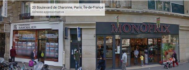 Monoprix Nation 20 Boulevard De Charonne 75020 Paris 01 43 73 17 59 Monoprix Paris Immobilier