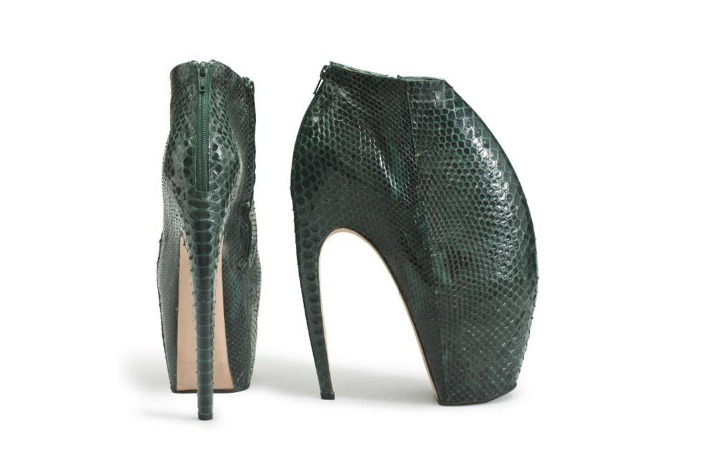 Alexander McQueen's Armadillo Heels Sell for Almost $300K in Christie's Auction