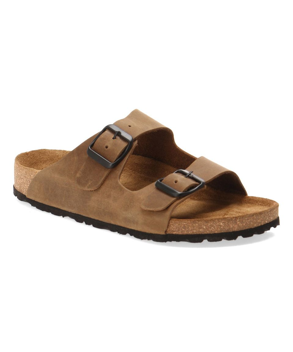 b0c8602e824 Comfortfusse Sand Ema Leather Sandal - Women by Comfortfusse  zulilyfinds
