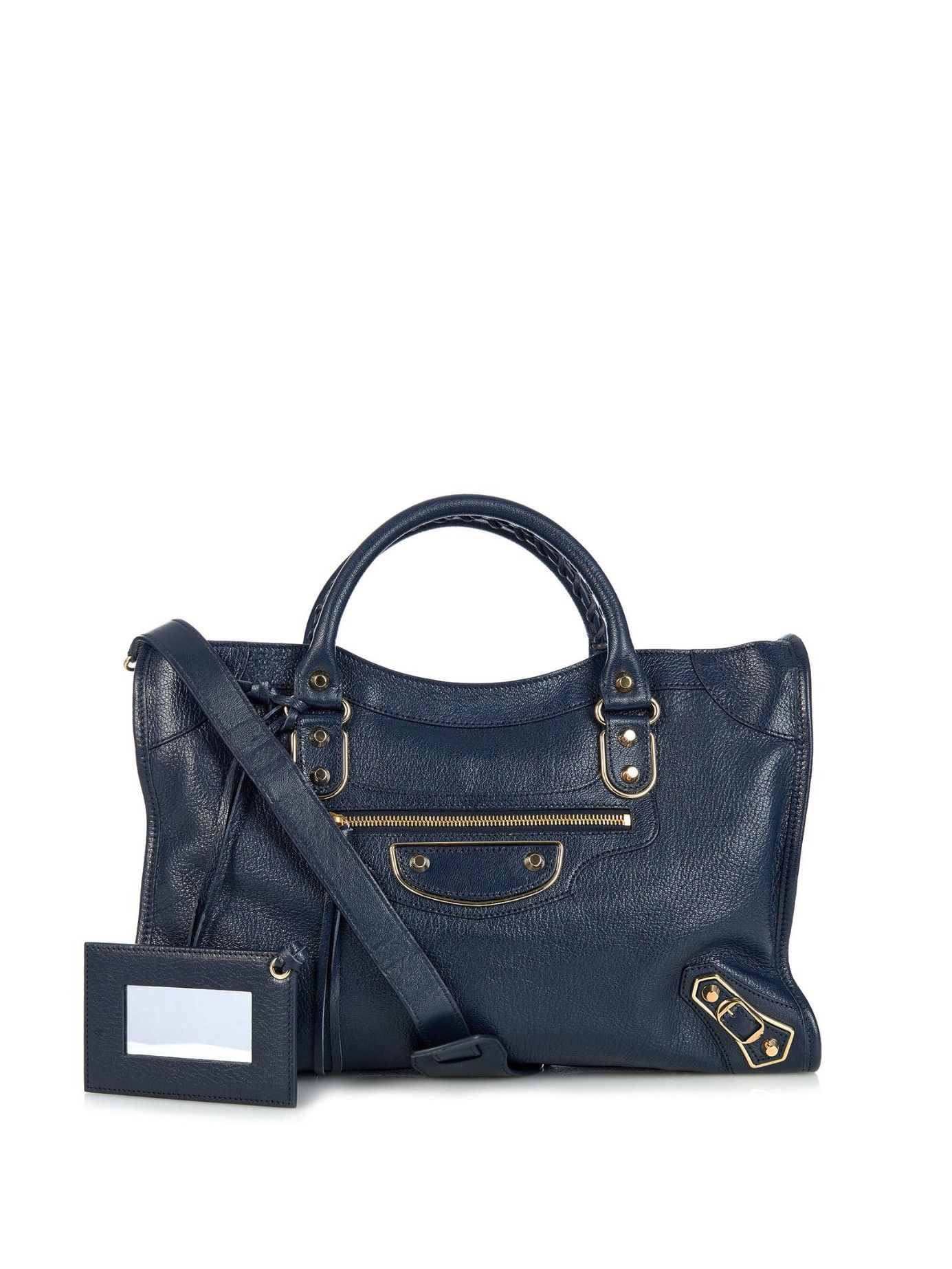 cbdcdcda636 Classic City metallic-edge leather tote | Balenciaga | MATCHESFASHION.COM AU