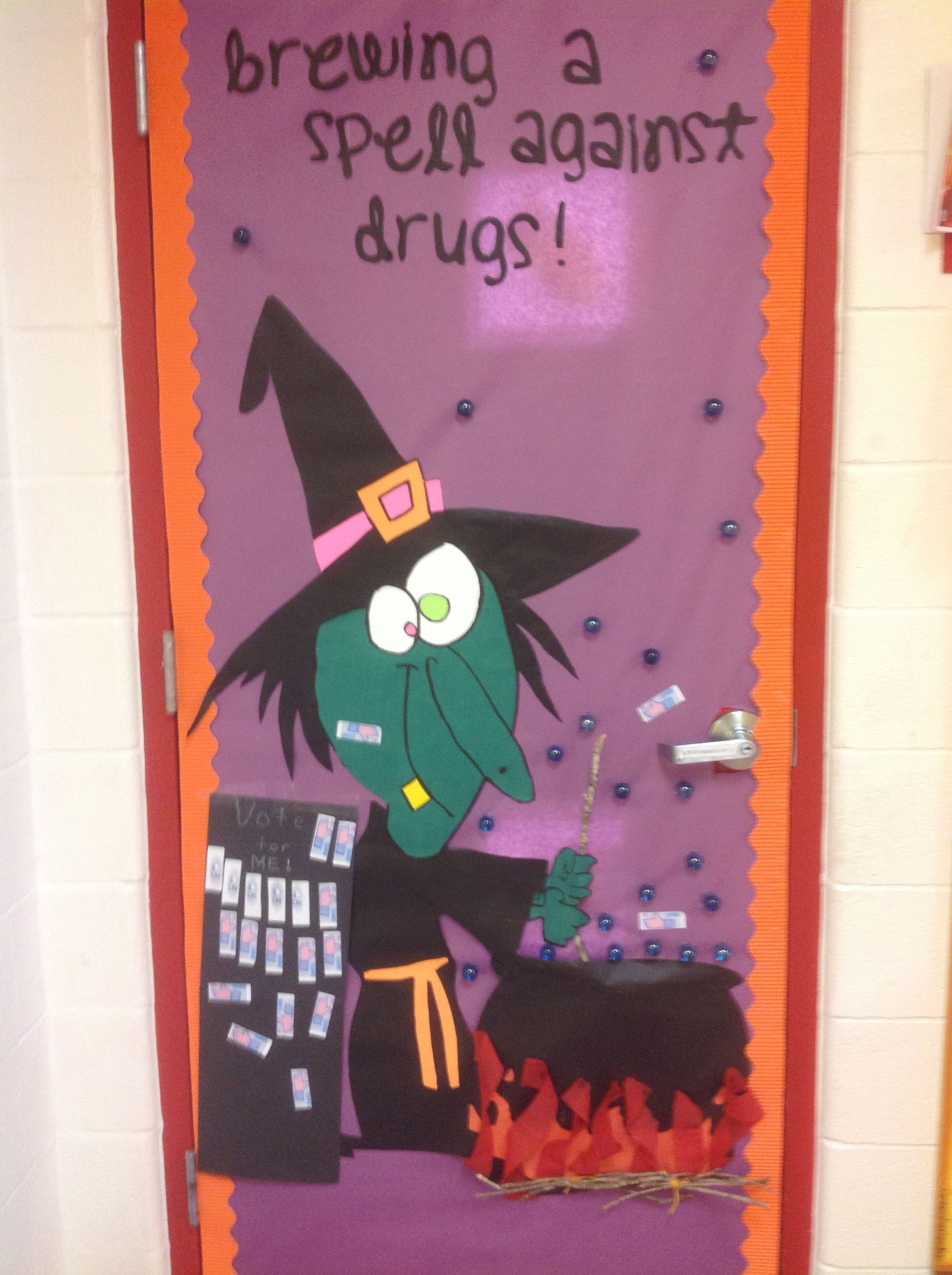 Door Decorating Ideas For Halloween And Drug Free Valoblogi Com