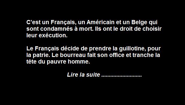L Execution Du Belge En 2020 Belge Humour Noir Blague