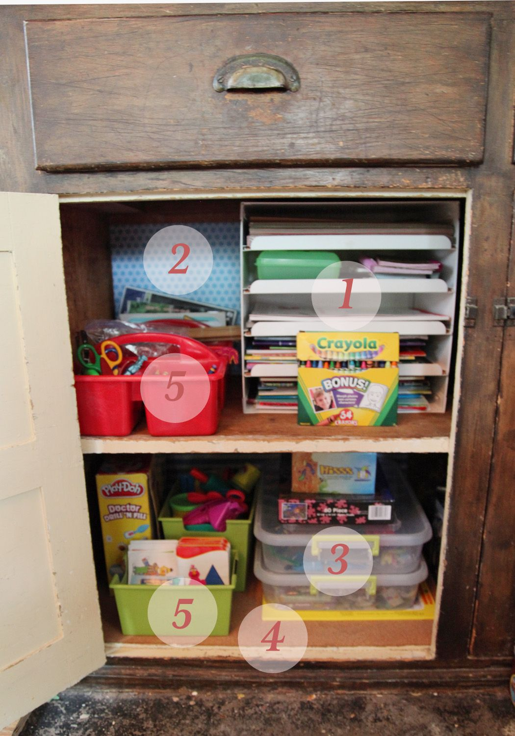 kid's arts & crafts storage, love the puzzle organization. | let
