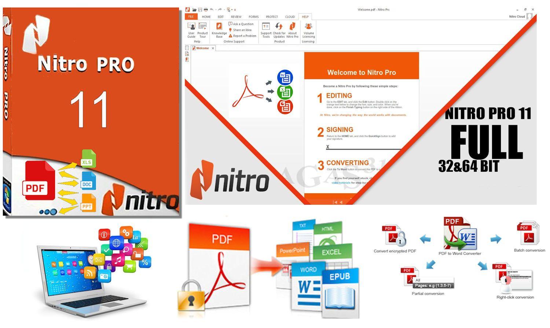 nitro pro 11 upgrade
