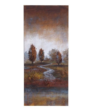 Take a look at this Autumn Trees Canvas Wall Art by UMA Enterprises on #zulily today! $35 !!