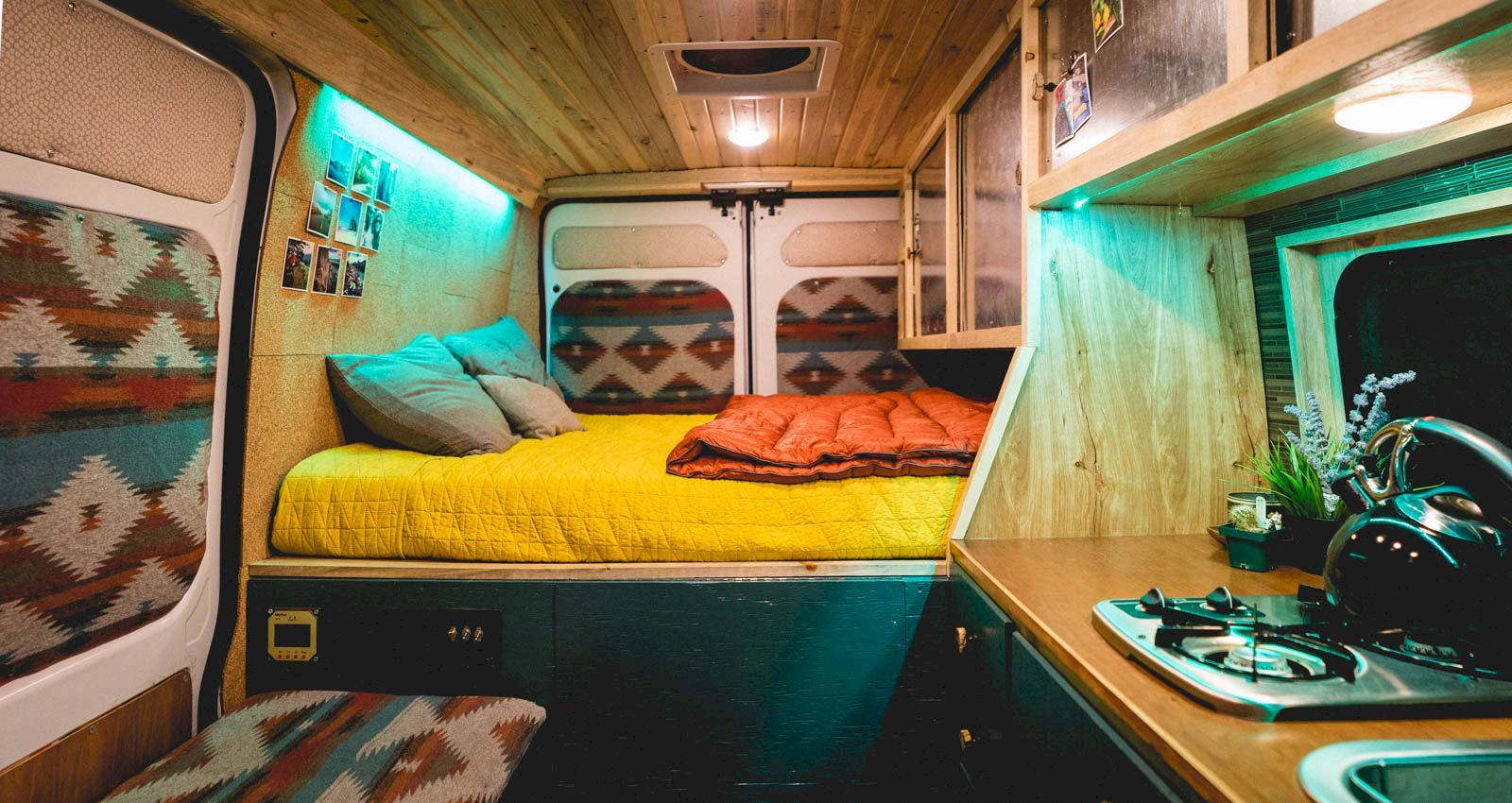123 Awesome Camper Van Interior Ideas Thatll Inspire You To Hit The Road