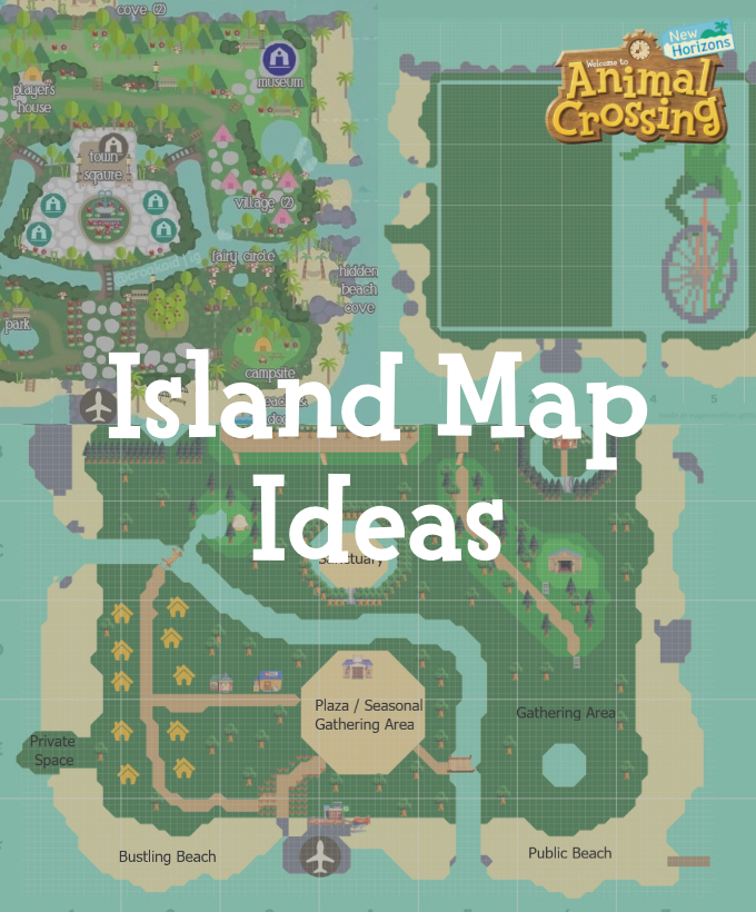 Animal Crossing New Horizons Map Design Ideas In 2020