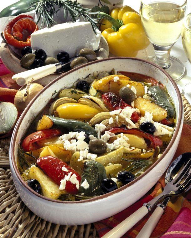 Unser beliebtes Rezept für Italienisches Ofengemüse mit Feta und mehr als 55.000 weitere kostenlose Rezepte auf LECKER.de.