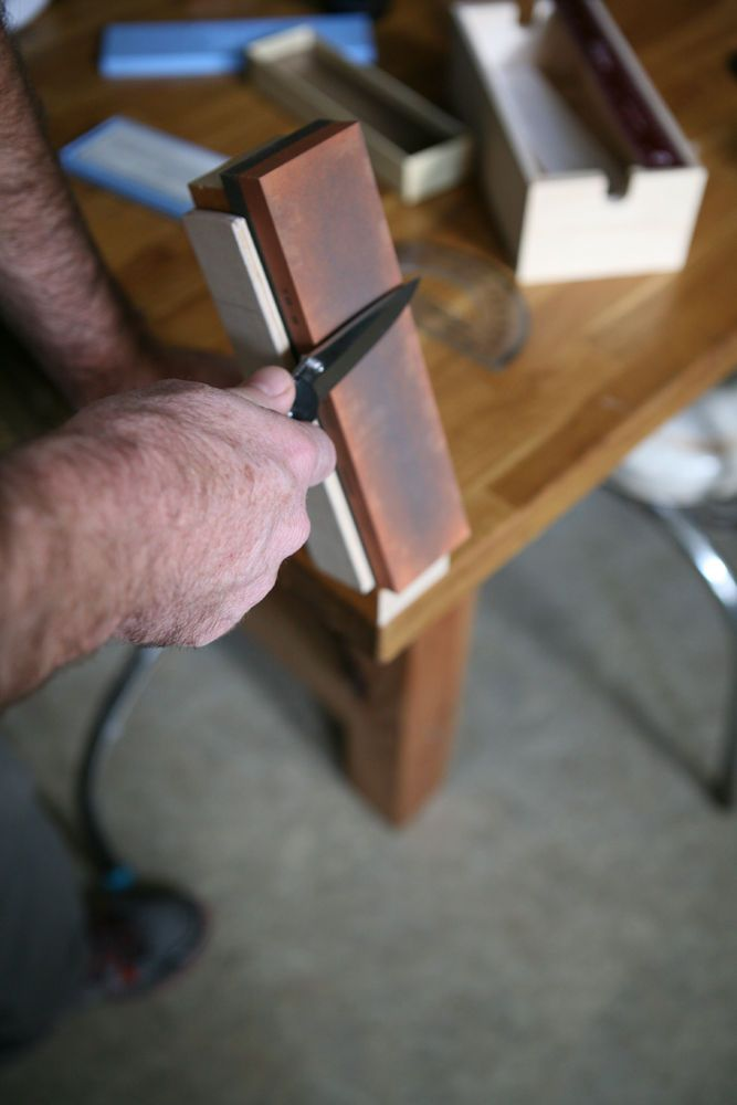 How To Build A Diy Knife Sharpening Jig Pictures Of