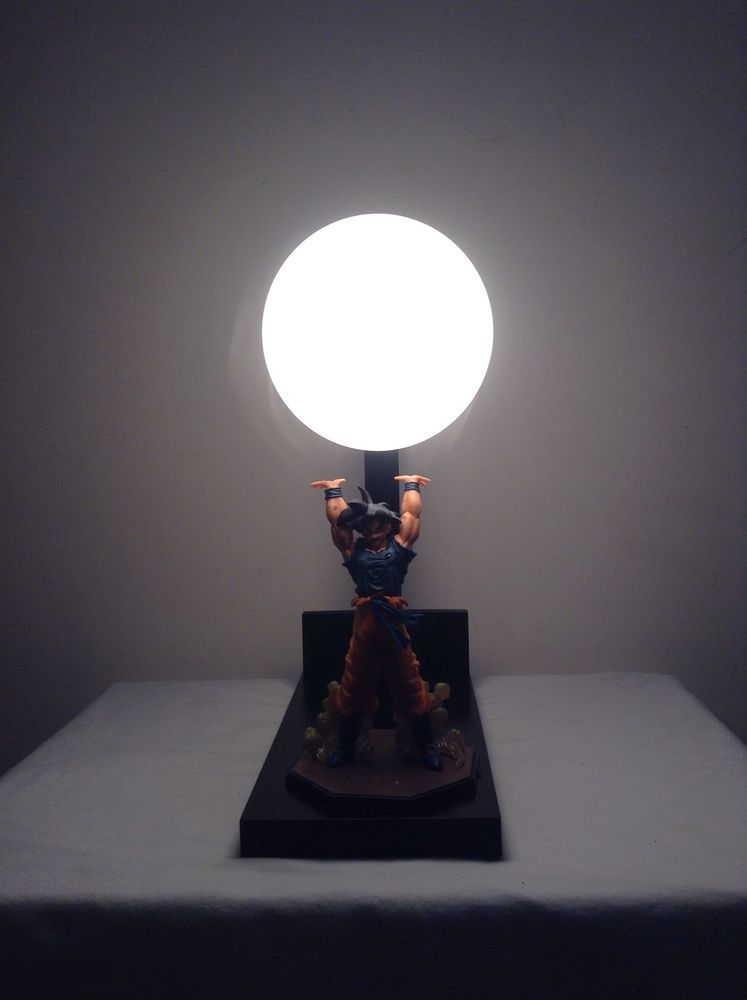 Wonderful Zero Reserve The Original Goku Spirit Bomb Lamp Dragonball Z Lamp DBZ | EBay