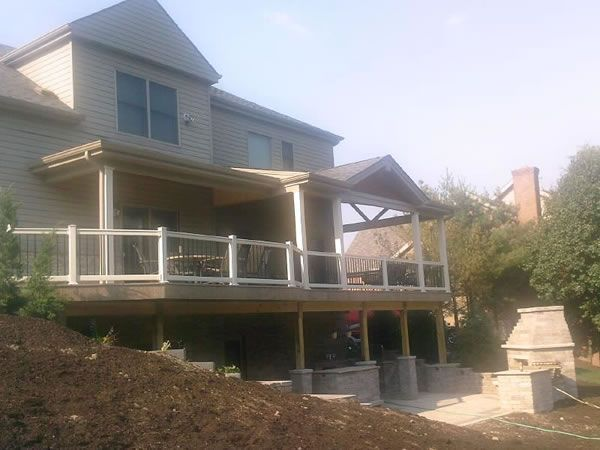 Best Multi Level Decks With Roof Patios Multi Level Paver 400 x 300