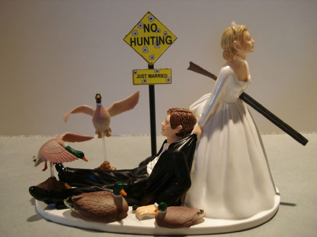 Unique and Funny Wedding Cake Toppers on Pinterest Discover the