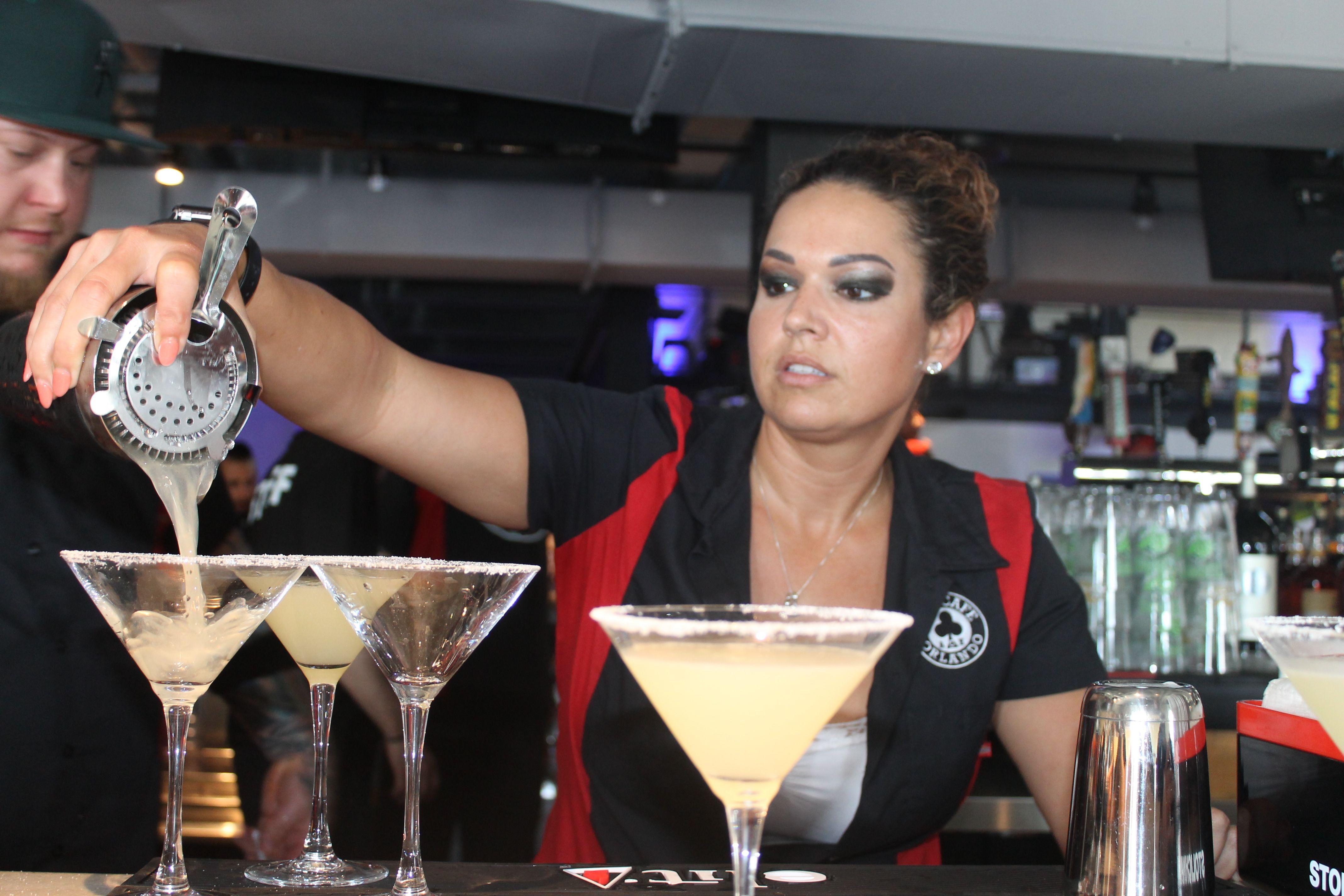 Ace Cafe bartender