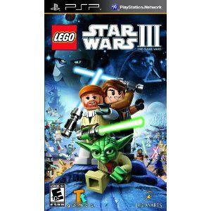 Platform Sony Psp Amazon Com Lego Star Wars Iii The Clone Clone Wars Lego Games Lego War