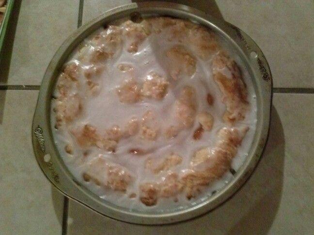 Peach coffee cake yum :)