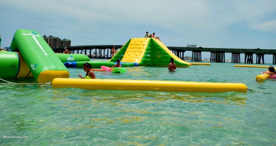 water park destin pleasure florida island