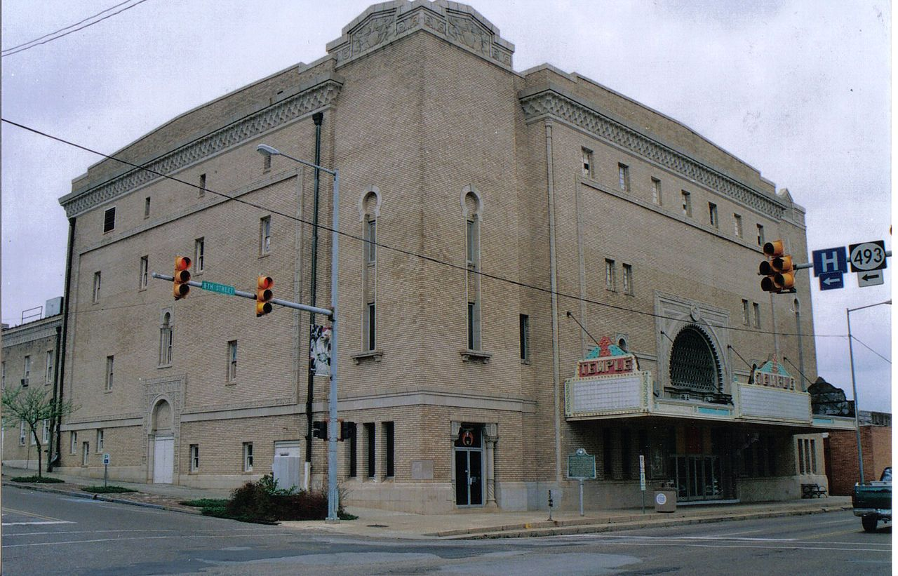 Temple Theater in Lauderdale County, Mississippi